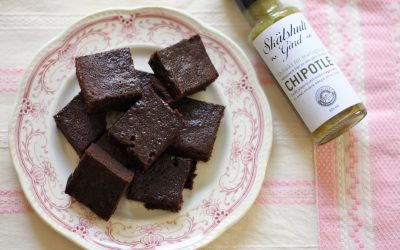 Chokladkaka med chipotle och lakrits