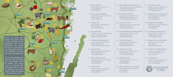 Bondens Torg karta