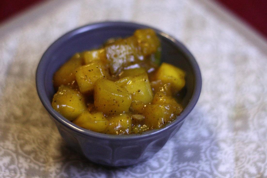 Hemlagad mango chutney med Starflame