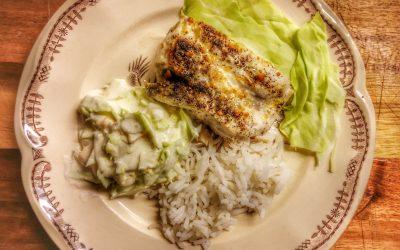 Ugnsbakad fisk med smör, citron och Starflame