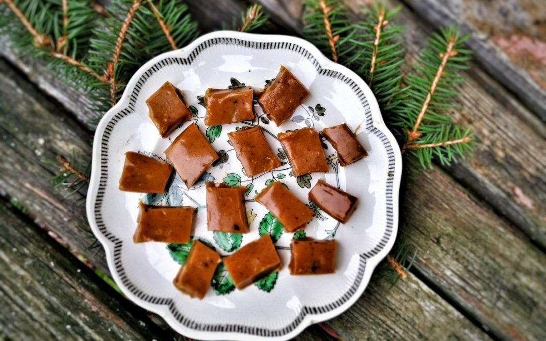 Fudge med lakrits och chili